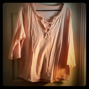 Weekend top! Never worn. Stayed in my closet!